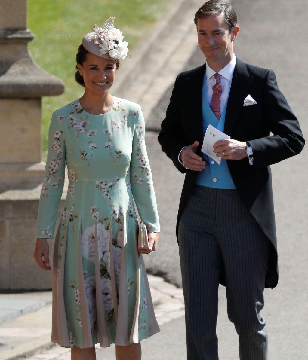 Pippa Middleton y su marido