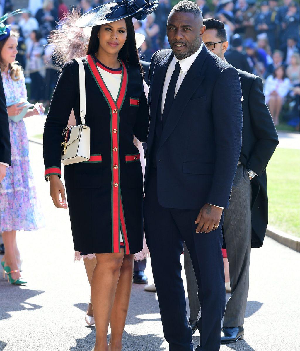 El actor Idris Elba y su chica,  Sabrina Dhowre