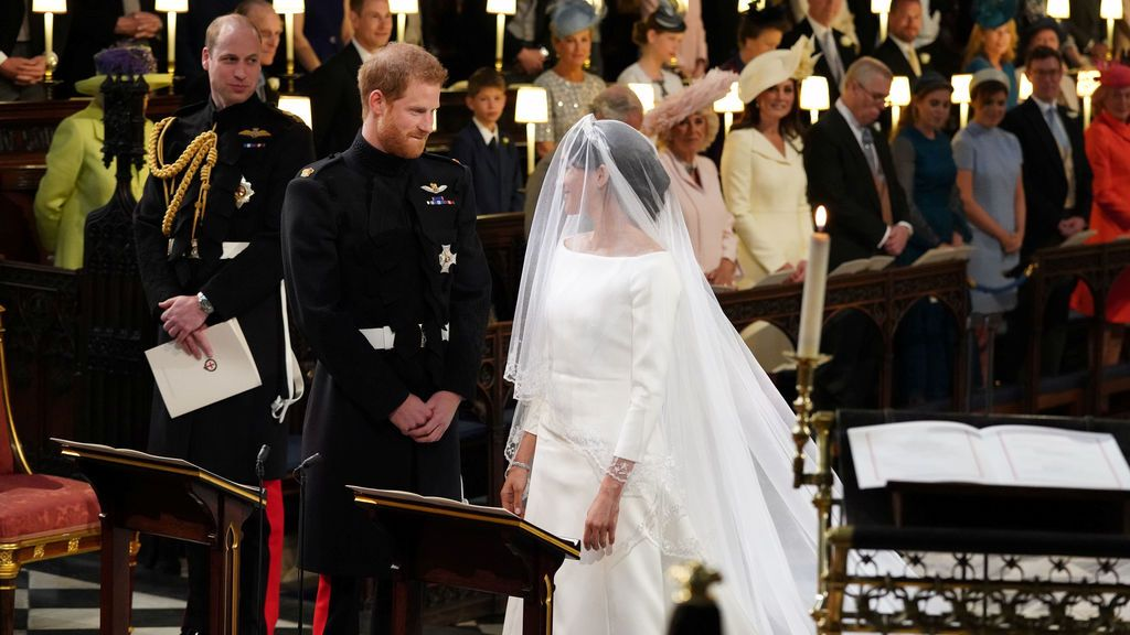 El príncipe Harry y Meghan Markle se dan el 'sí, quiero'