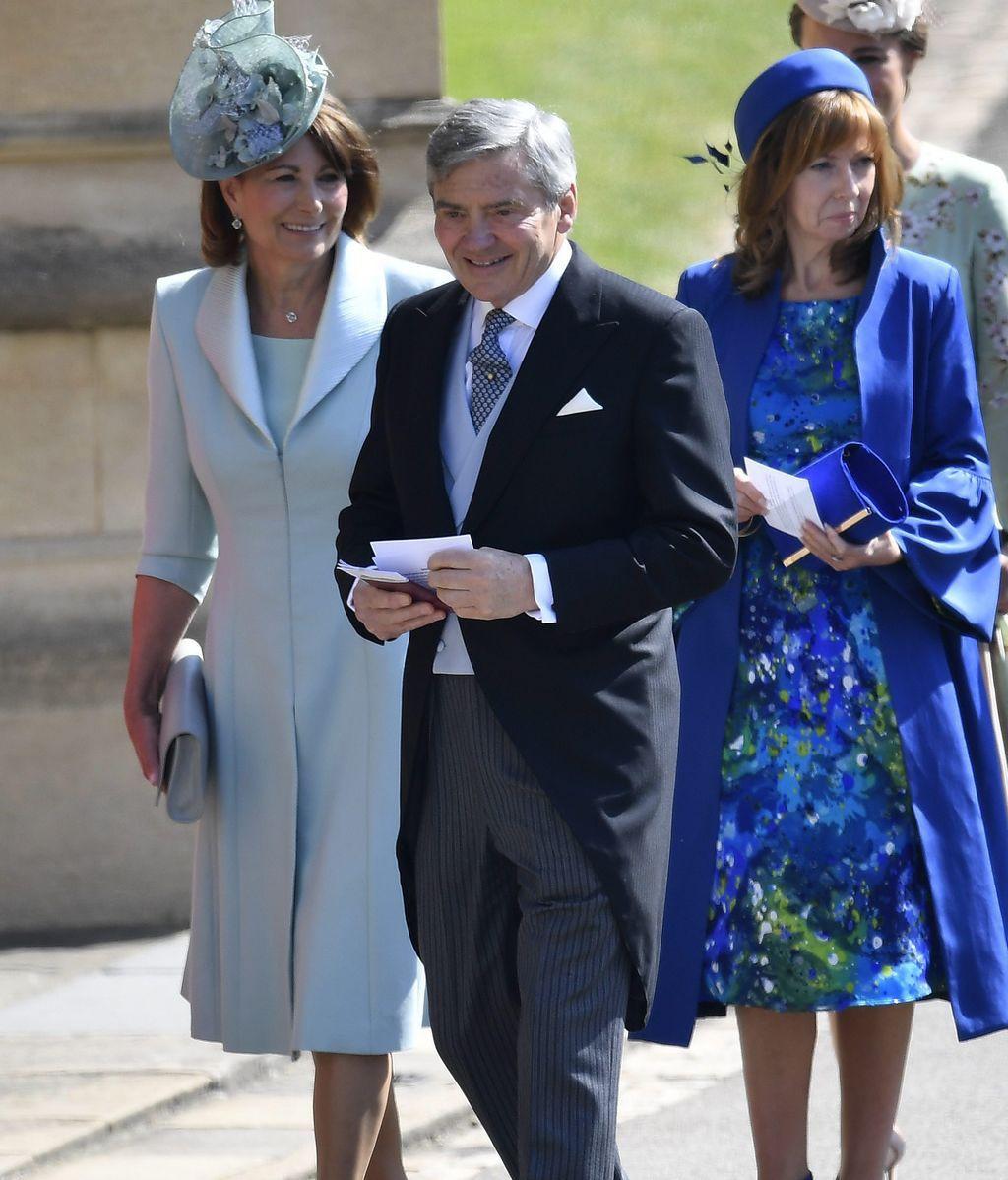 Michael y Carole, los padres de Kate Middleton