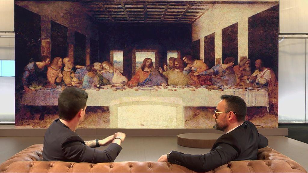 """El cuadro de 'La última cena', analizado: """"La técnica que utilizó Da Vinci fue un fracaso absoluto"""""""