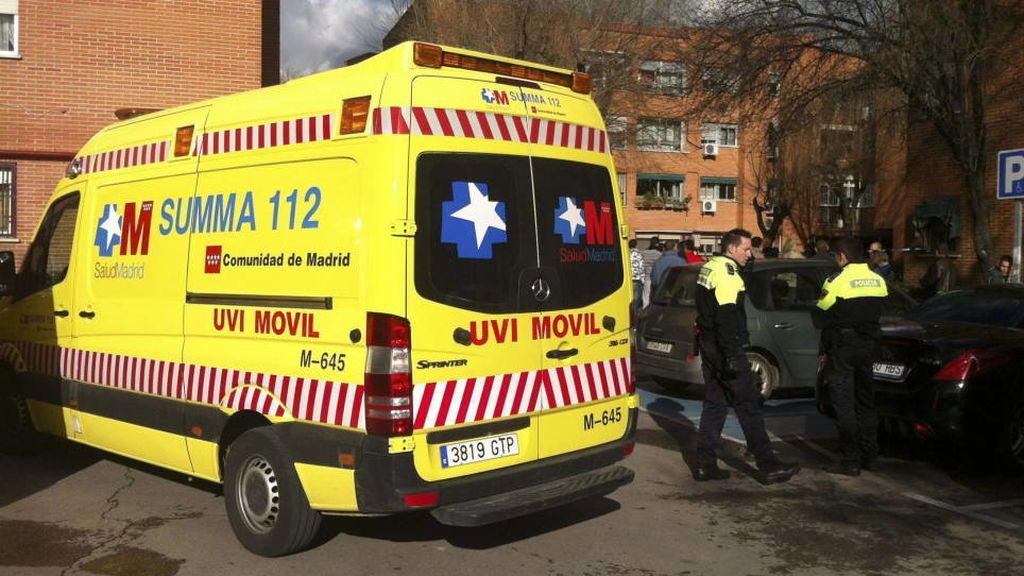 Herido grave un joven de 20 años tras ser agredido con un arma blanca en Madrid
