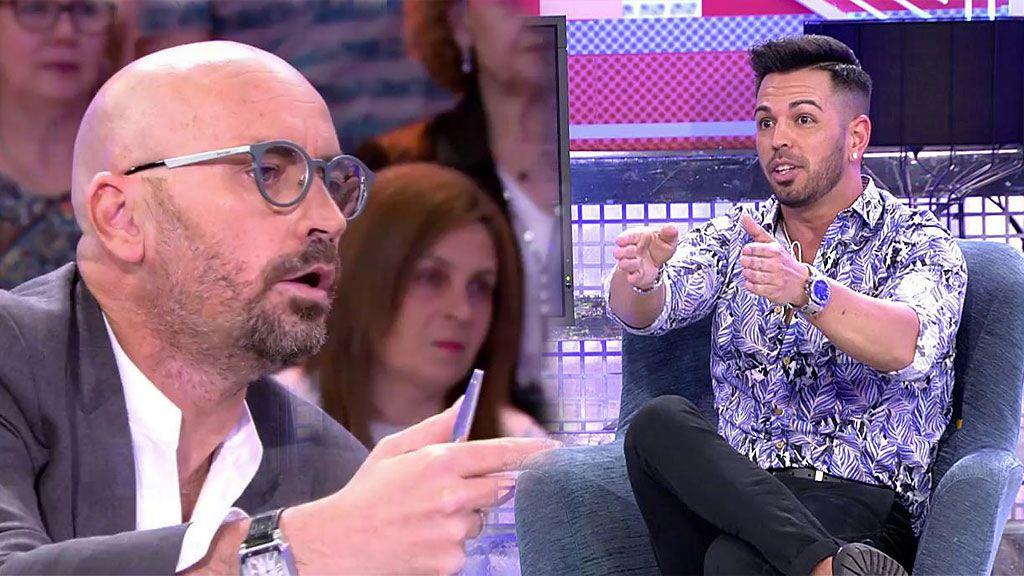 """Diego Arrabal explota ante la versión de Tony: """"Isa Pantoja y tú tenéis la cara muy dura"""""""