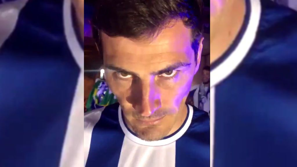 La reacción de Iker Casillas tras preguntarle si se va a retirar pronto debido a su edad