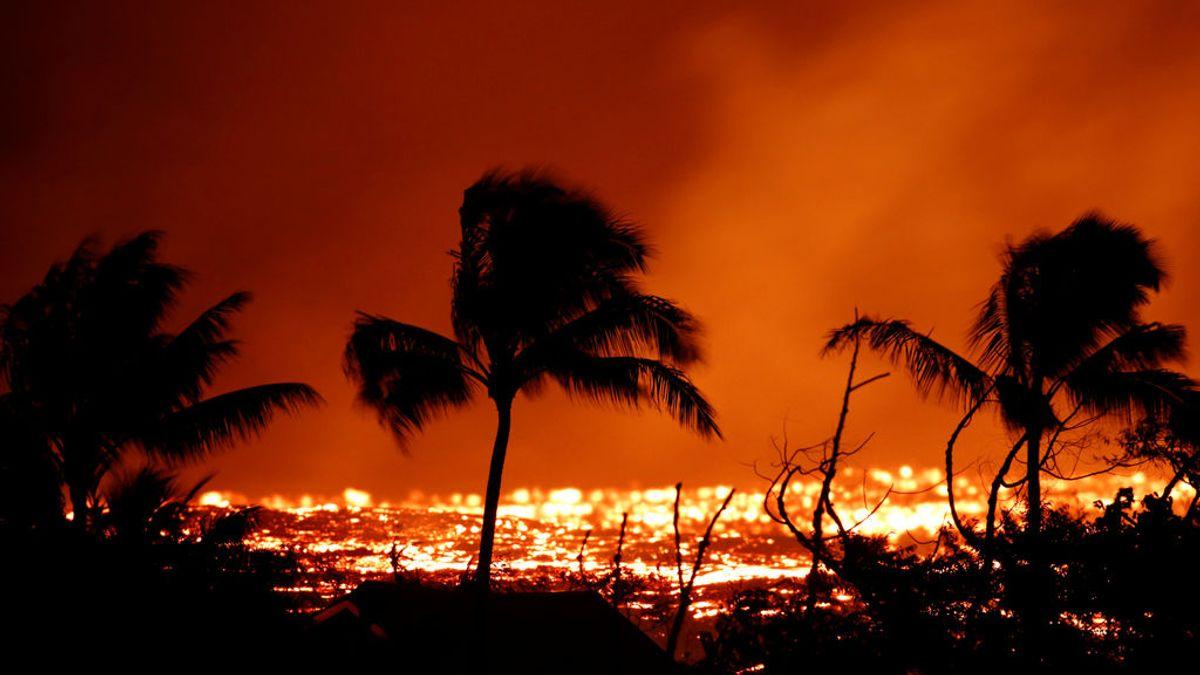 Un herido de gravedad por las corrientes de lava en Hawái tras la erupción del volcán Kilauea