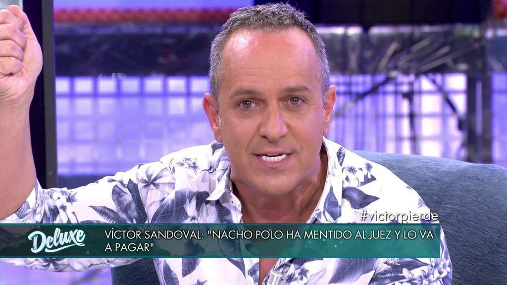 """Víctor Sandoval le manda un mensaje a Nacho Polo: """"Con la espada y el machete de Francisco, voy a defender lo que es mío"""""""