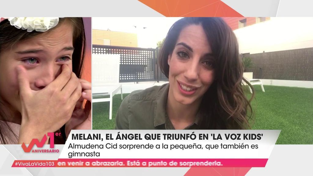 """Las lágrimas de la ganadora de 'La Voz Kids 4' al escuchar a Almudena Cid: """"Es la mejor"""""""