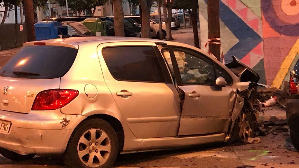 Dos policías heridos en Melilla tras ser embestido su coche por un conductor ebrio y sin carné