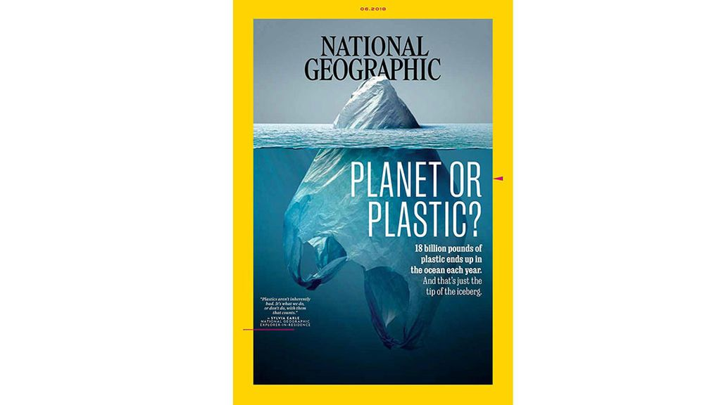 Portada del número de junio de 'National Geographic'.