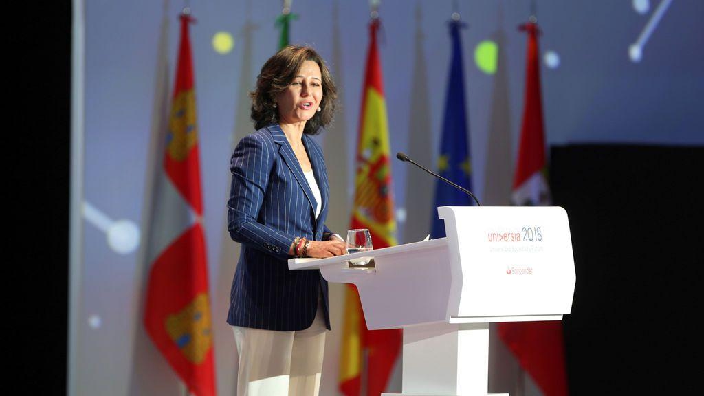 Ana Botín, una banquera feminista