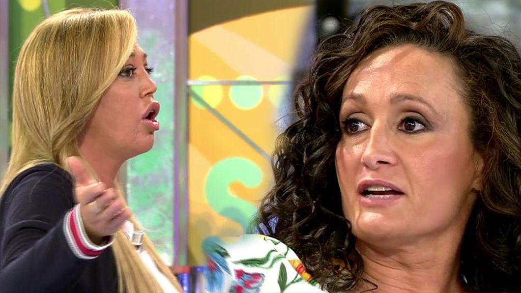 """Dulce se encara con Belén Esteban: """"No te alteres para pedir el aplauso fácil del público"""""""