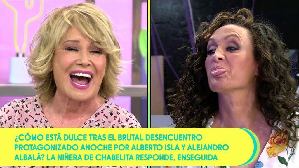 "Dulce arremete contra Mila Ximénez: ""¡Eres una cobarde!"""