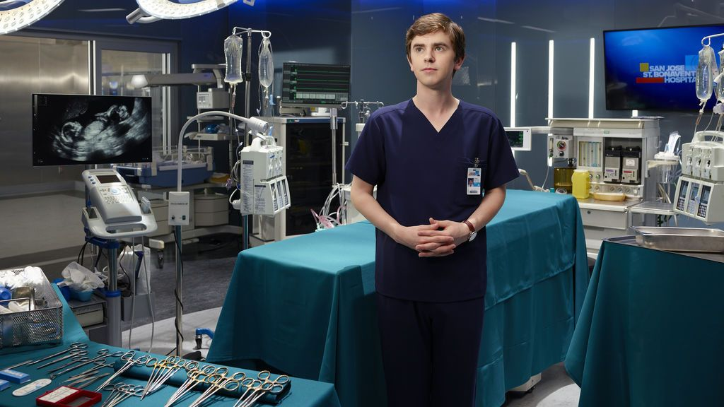 Freddie Highmore es Shaun Murphy, protagonista de 'The good doctor'.
