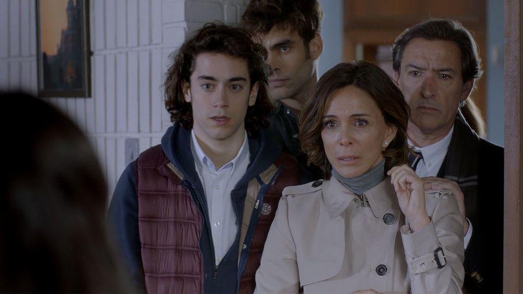 Paula García se reencuentra con su familia