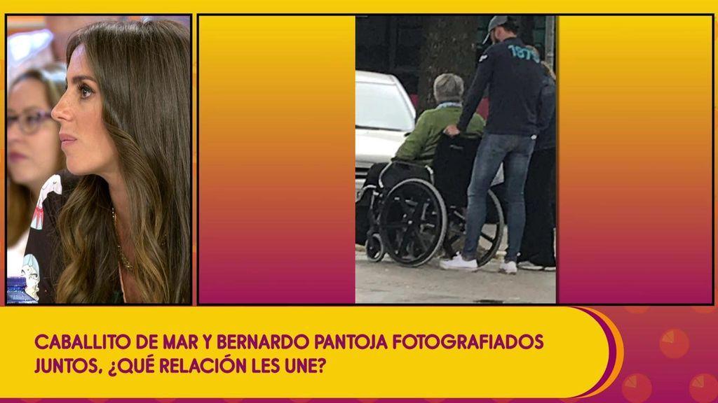 ¡'Caballito de Mar' y Bernardo Pantoja fotografiados juntos!