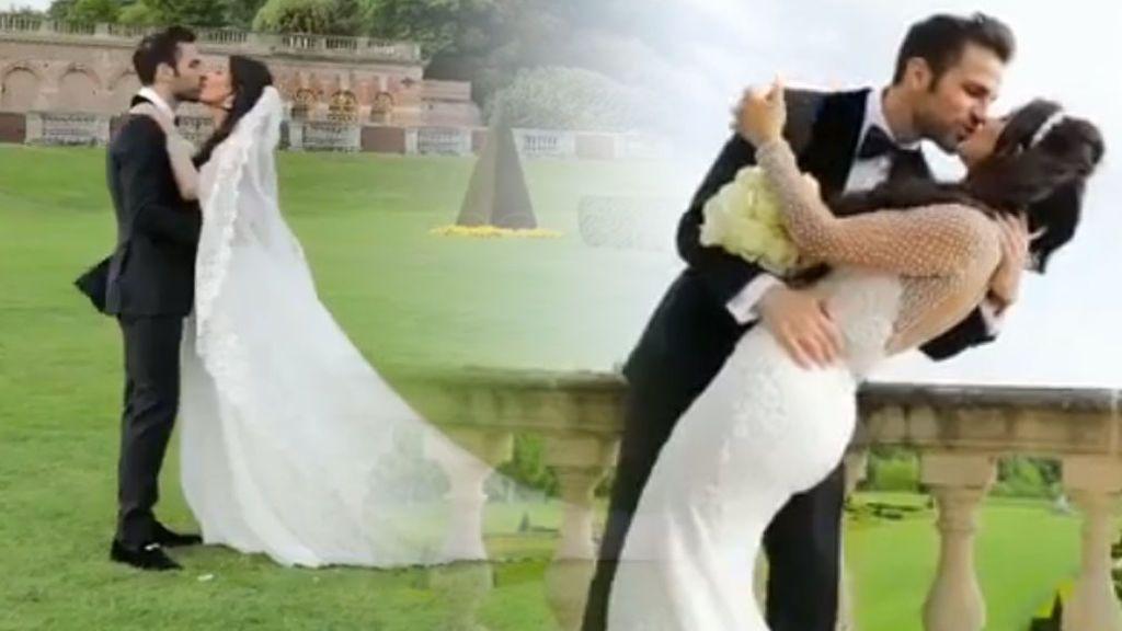 Bromas, ternura y mucho amor: el emocionante vídeo con imágenes inéditas de la boda de Fábregas y Daniella