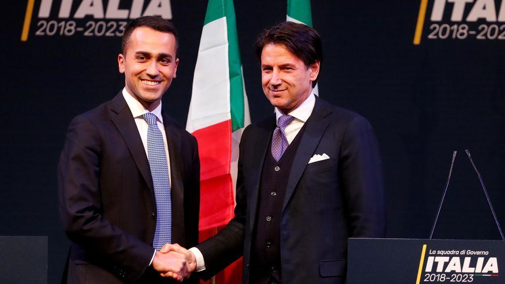 Giuseppe Conte, elegido por Liga y M5S para ser el futuro primer ministro de Italia