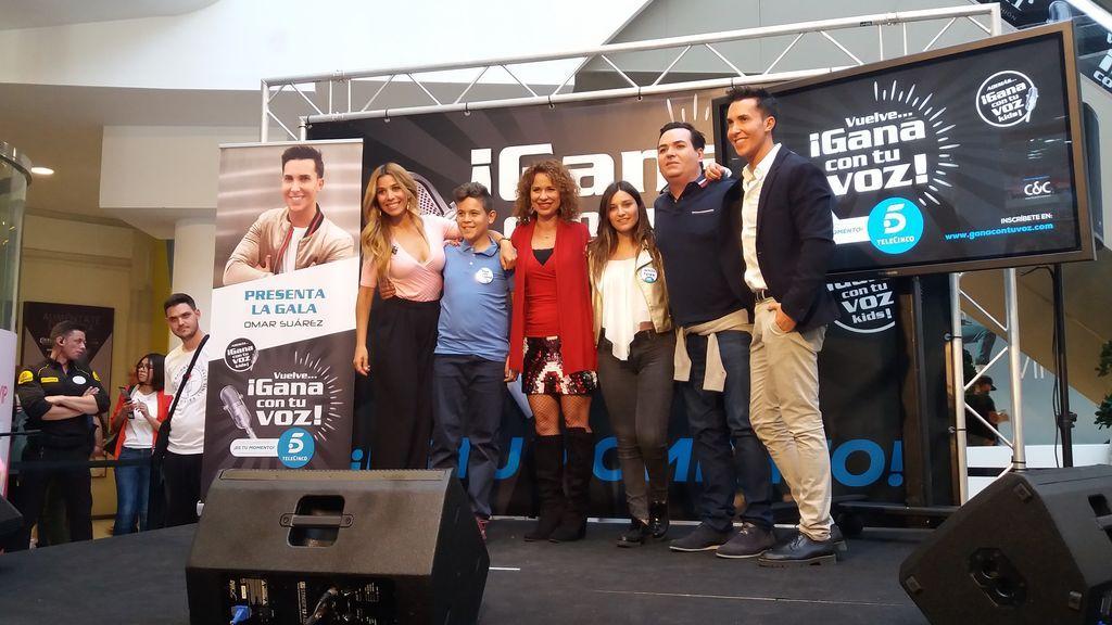 'Gana con tu voz' triunfa en Valladolid