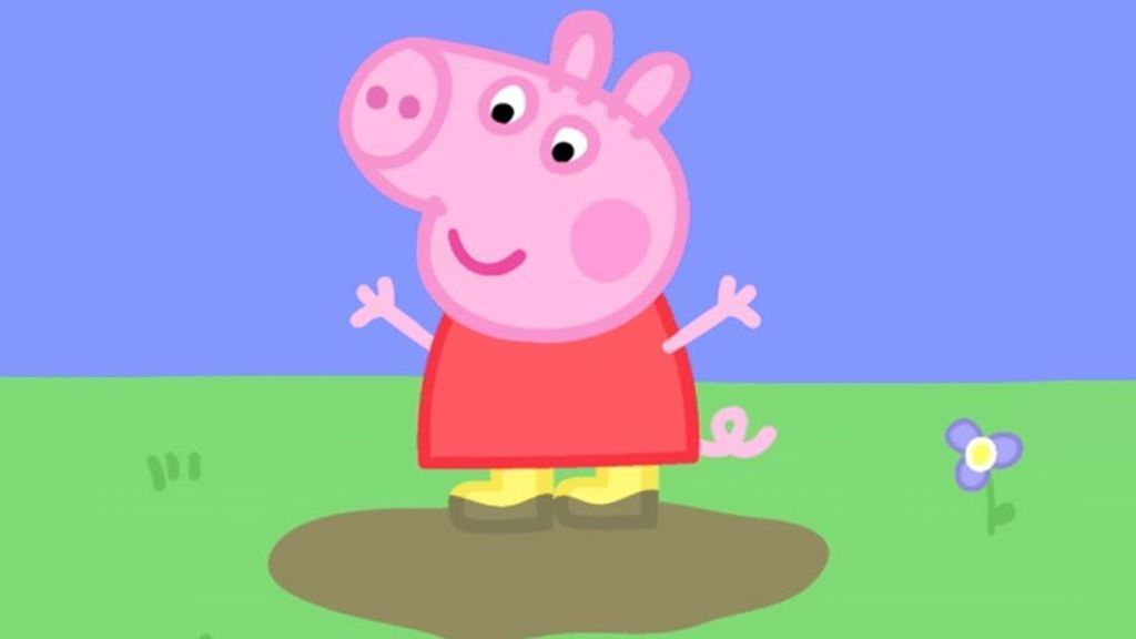 Peppa Pig, la popular cerdita que da nombre a los dibujos animados de Entertainment One.