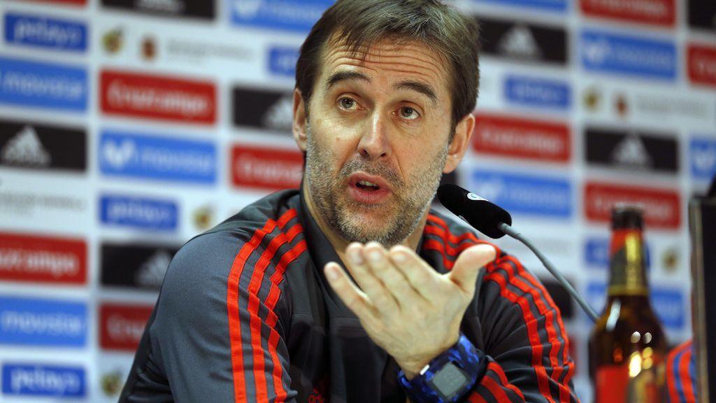 Julen Lopetegui renueva como seleccionador de España hasta la Eurocopa de 2020