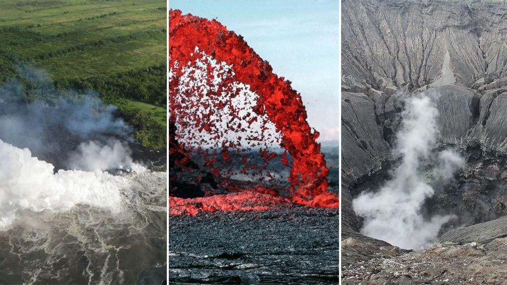'Laze', balas de lava y ceniza cegadora: los tres peligros del volcán Kilauea (que no son la lava)
