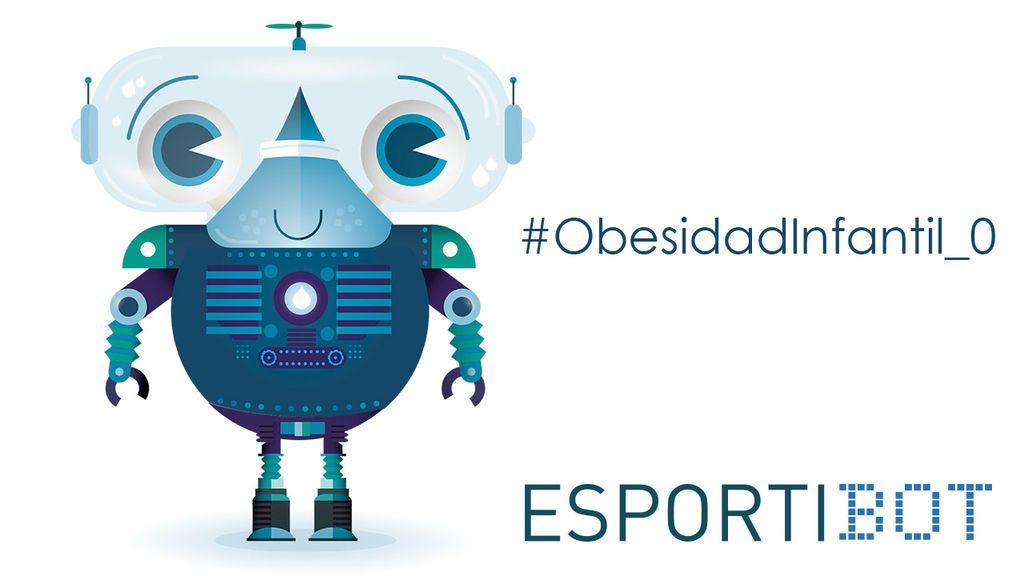 Tecnología y salud contra la obesidad infantil: Esportibot