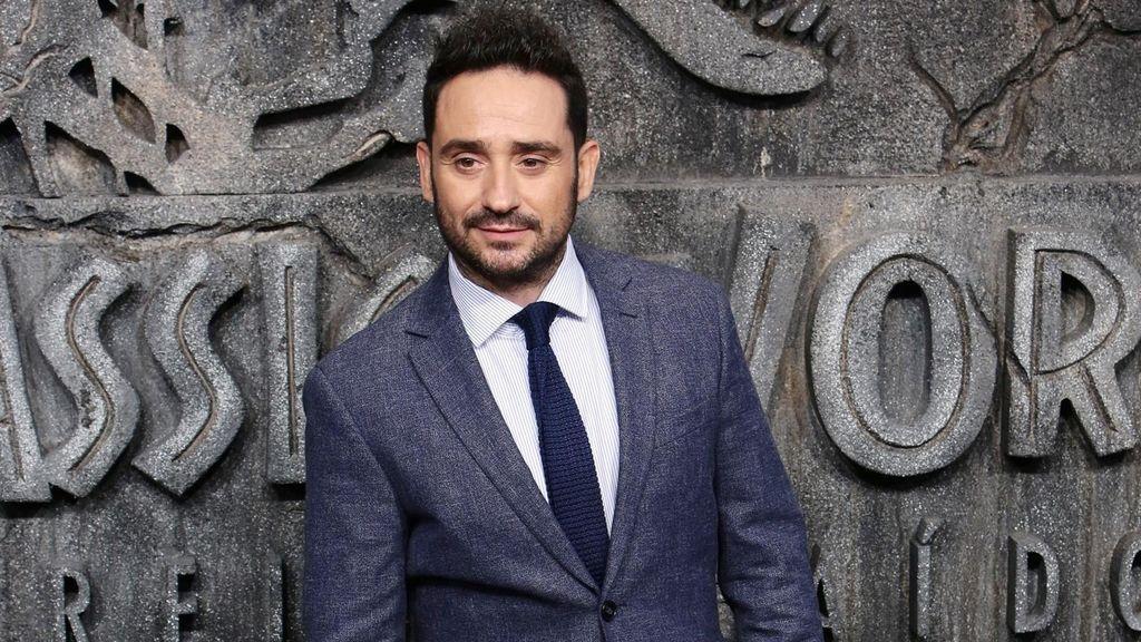 Juan Antonio Bayona, en el estreno mundial de 'Jurassic world: El reino caído' el 21 de mayo en Madrid.