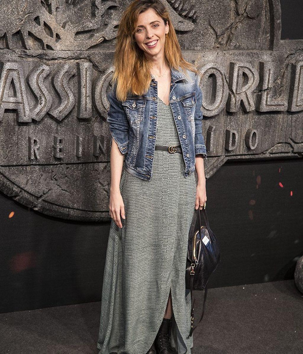 Leticia Dolera, con botas y chaqueta vaquera