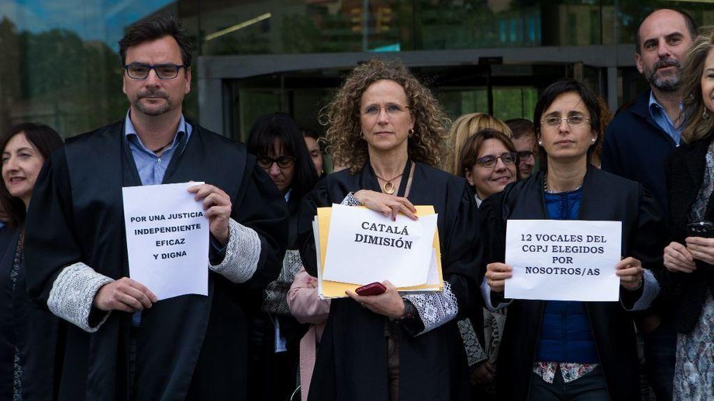 Primera huelga general conjunta de jueces y fiscales en España