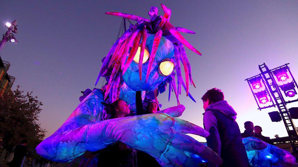 Festival de luces y música en Australia