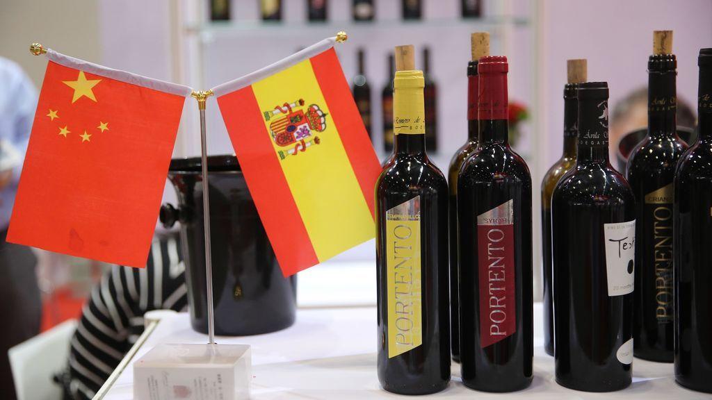 Vinos españoles presentados en la feria TopWine China 2018