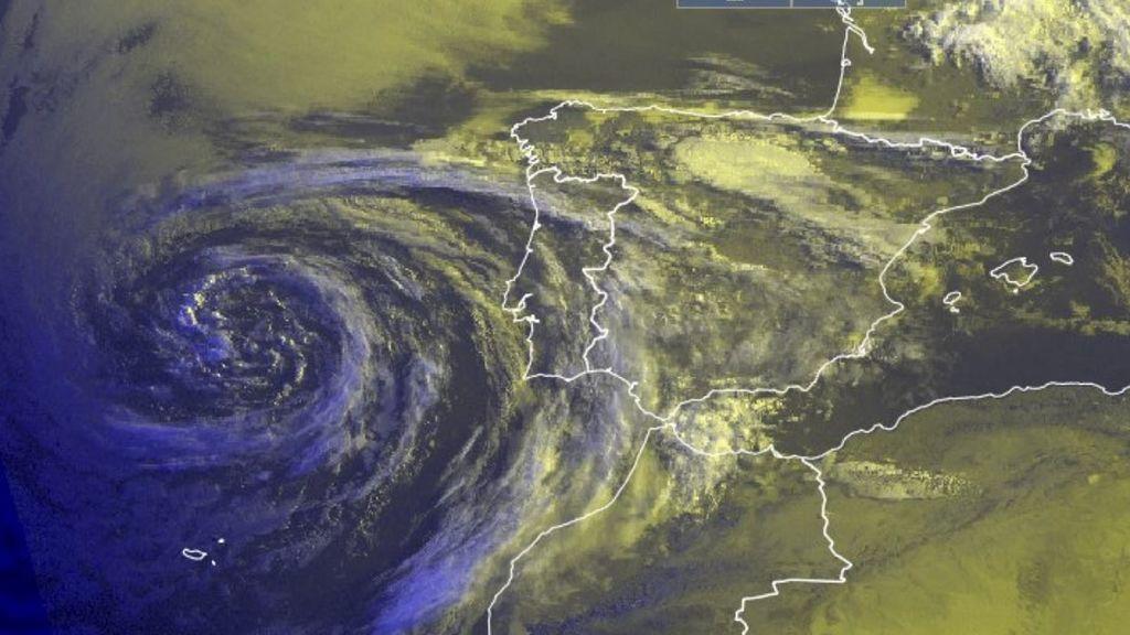 Belleza 'meteo': las fotos de la borrasca perfecta que ha encandilado a los meteorólogos