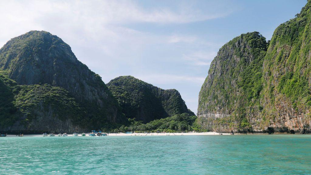 Bahía de Maya en Tailandia