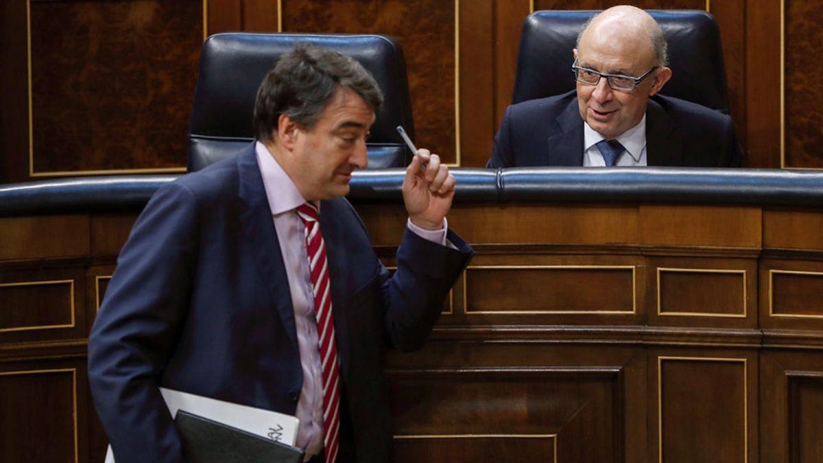"""El PNV anuncia que, """"por responsabilidad"""", votará a favor de los Presupuestos Generales"""