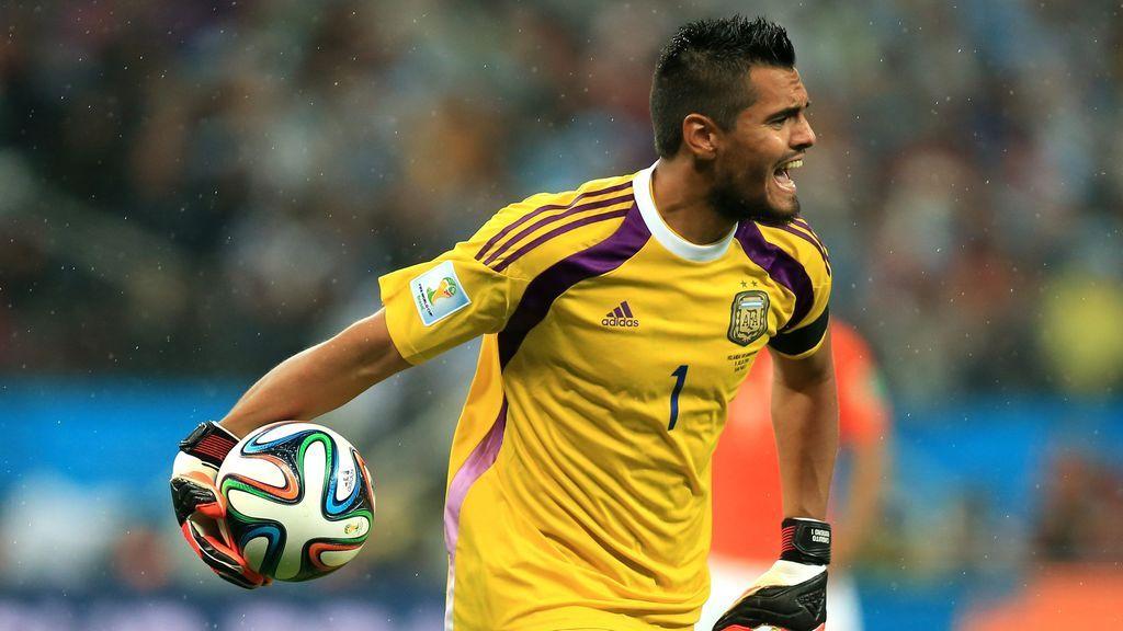 Sergio Romero, portero titular de Argentina, se cae de la convocatoria del Mundial por lesión