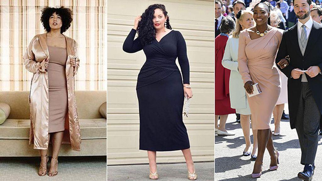 vestir de fiesta con una XL