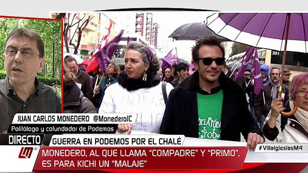 """Monedero responde a Kichi: """"Siempre le hemos defendido, incluso cuando ha tenido que asumir como alcalde contradicciones"""""""