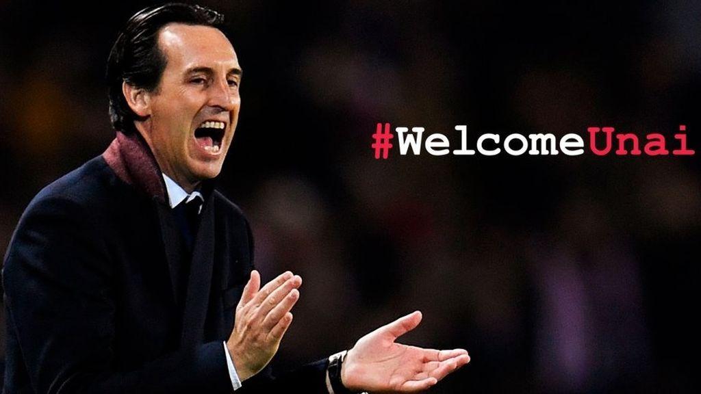 Ya es oficial: el Arsenal anuncia el fichaje de Unai Emeri como sustituto de Arsene Wenger