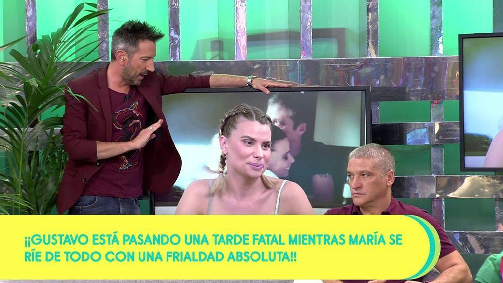"""María Lapiedra sobre sus imágenes con Tony: """"Esa María ya no existe, la maté hace tiempo"""""""