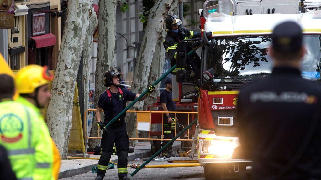La causa del derrumbe del edificio de Madrid fue la acumulación de toneladas de escombros