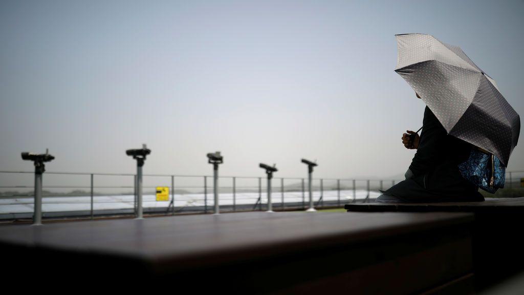 Frontera entre las dos Coreas