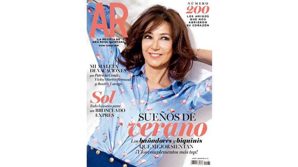 Última portada de 'La revista de Ana Rosa Quintana'.