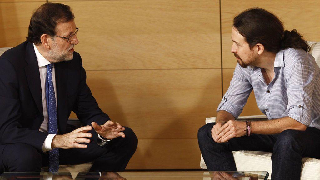 Rajoy se reunirá con Pablo Iglesias este martes para tratar la situación de Cataluña