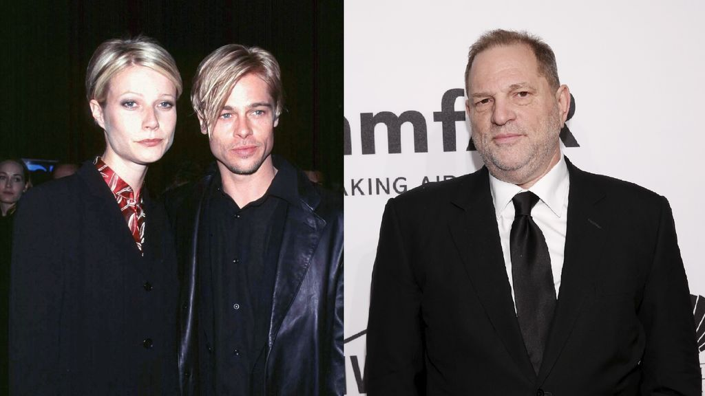 brad pitt gwyneth paltrow harvey weinstein amenazas