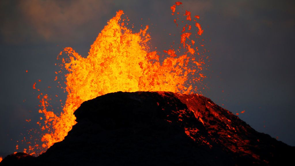 Siguen las erupciones del volcán Kilauea
