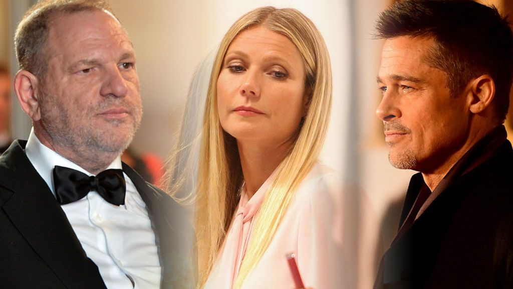 "Brad Pitt, a Weinstein tras su intento de abuso a Gwyneth Paltrow: ""Si lo vuelves a hacer, te mataré"""