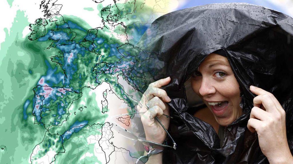 Prepara el chubasquero: te decimos dónde va a llover más y con mayor intensidad