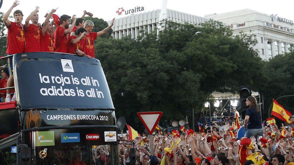 España ya tiene lema para el autobús que les acompañará en el Mundial de Rusia
