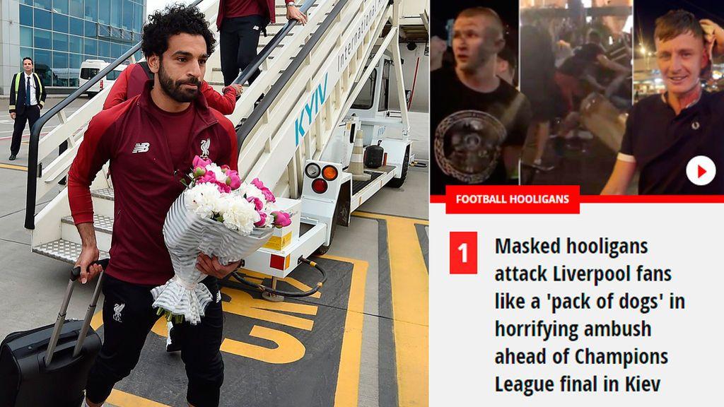 Que los 'hooligans' no se lleven toda la atención de la previa: así llega el Liverpool a la gran final de la Champions en Kiev