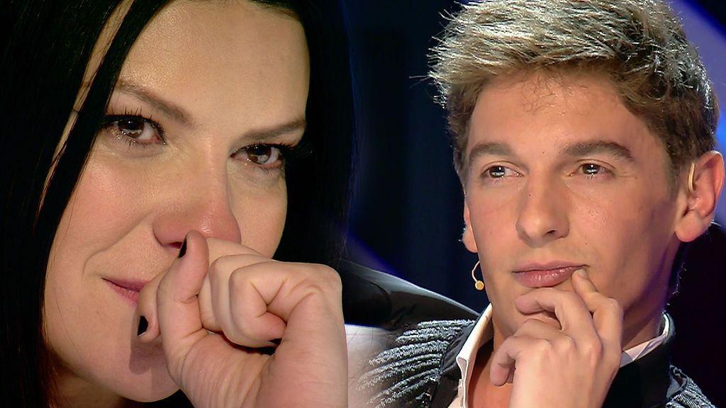 ¡Equipos cerrados! Laura Pausini pasa un mal trago mientras que Xavi Martínez se convierte en el 'rompesillas' de 'Factor X'